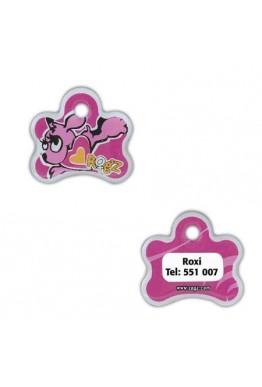Rogz Pupz ID-tagz rosa