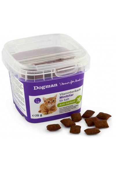 Dogman - Vitaminberikede Minibiter, Malt 75g