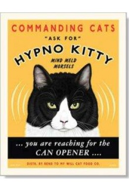 Katt kort - Hypno Kitty