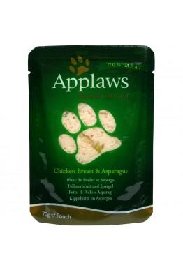 Applaws Kylling med Asparges Poser 12x70g