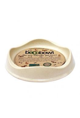 BecoBowl naturell - miljøvennlig matskål til katt