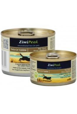 ZiwiPeak Våtfôr Katt Cuisine Beef 170gram