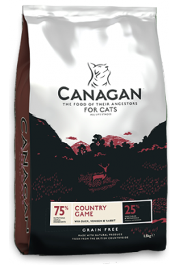 Canagan Country Game - 1.5kg - til katt og kattunge