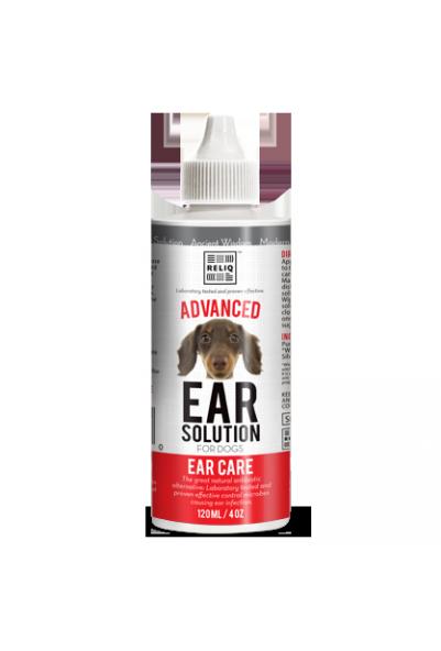 Reliq Ear solution - ørerens til hund & katt