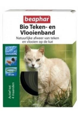 Flåtthalsbånd for katt