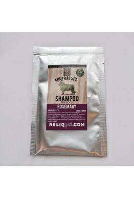 Reliq mineralshampo prøvepose 50 ml rosmarin