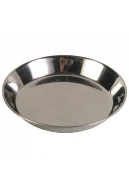 Trixie matskål til katt i rustfritt stål 0.2 liter