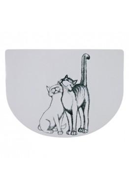 Matunderlag til katt - grå