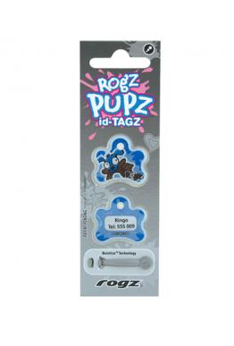 Rogz Pupz ID-tagz blå