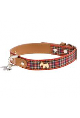 Highland hundehalsbånd med hundedetalj SMALL