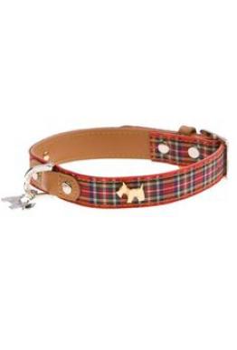 Highland hundehalsbånd med hundedetalj Medium