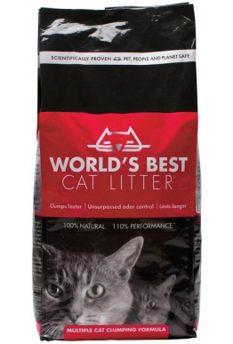 World´s Best Cat Litter 12,7 kg Rød
